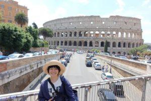 ローマにて